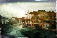 the Grand Canal, evening (eepeirson) Tags: venice texture venezia grandcanal abigfave goldseal leschick explorewinnersoftheworld writingellyn