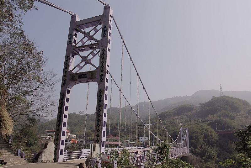復興吊橋全貌