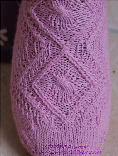 Englantine socks - close-up