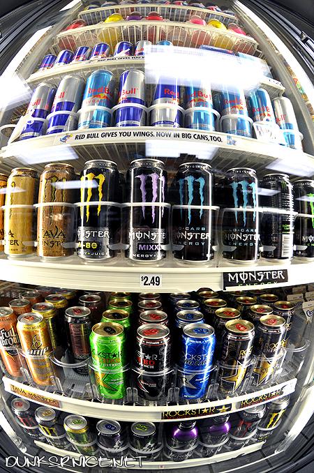 Thumb Base de Datos del contenido de cafeína en las bebidas energéticas