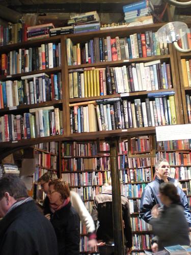 English Bookstore in the latin quarter