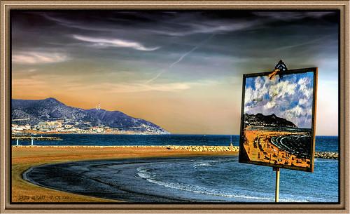 Sitges (5) Foto en Canvas