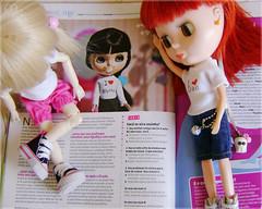 Blythe na Revista Capricho!