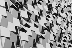 angles (Pezski) Tags: building modern sheffield angles structure planes opening carpark borgcube