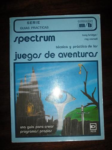 Spectrum técnica y práctica de los juegos de aventuras