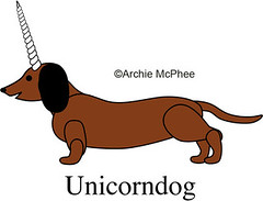 Unicorndog - Unused Unicorn Design