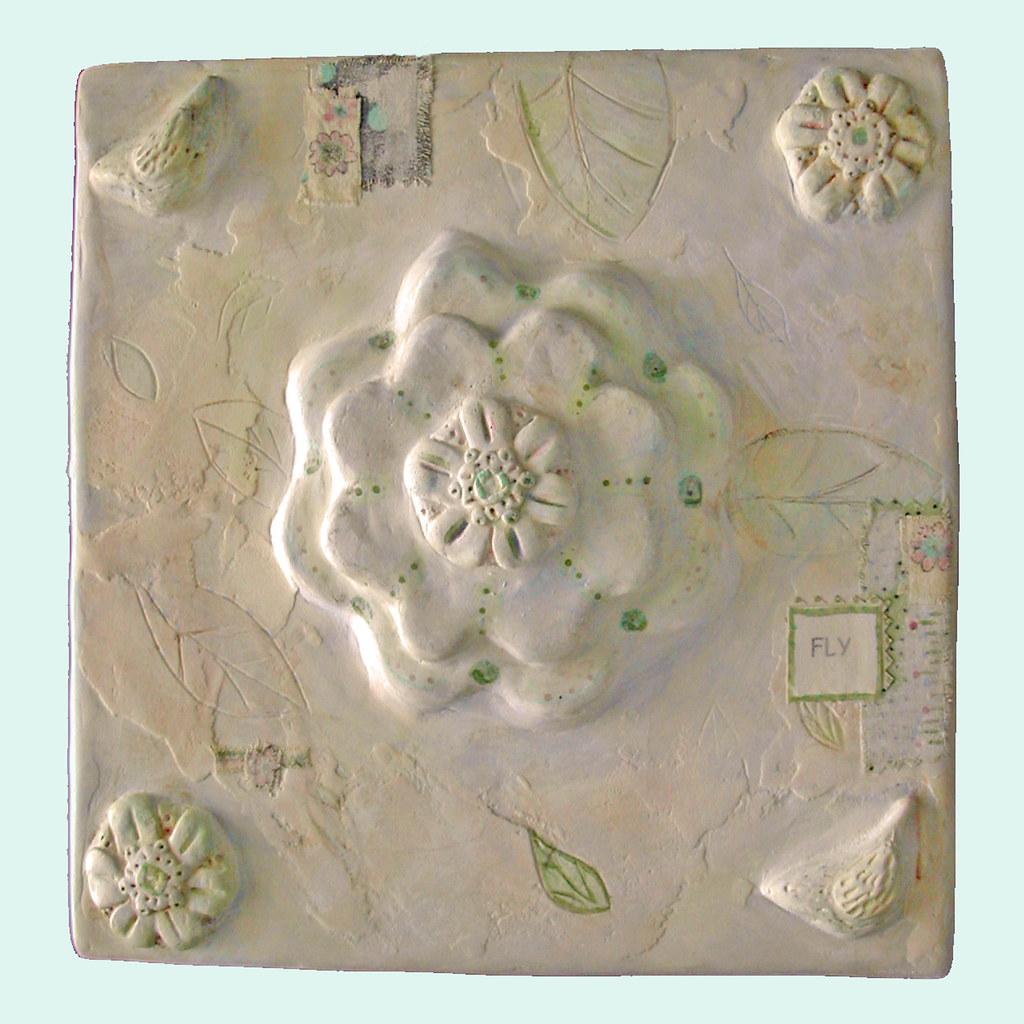 Bodda bloom wall tile 9x9 inch