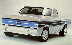 "1990 Ford F-150  ""Street"" Pickup Truck (Concept Truck) (Custom_Cab) Tags: show street ford car truck dream pickup f150 concept 1990 fseries"