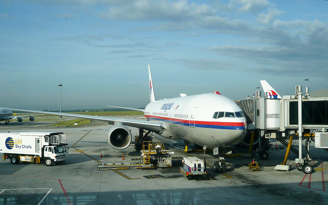 Malaysia Airlines B777-200ER 9M-MRP