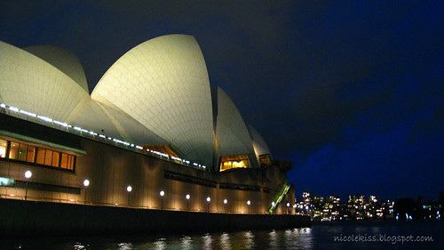 sydney opera house late evening_wide