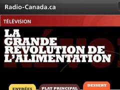 Radio Canada - Révolution de l'alimentation