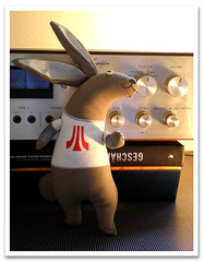 Atari Teenage Rabbit (violetta testacalda) Tags: rabbit bunny animals plushies softies noise coniglio violettatestacalda