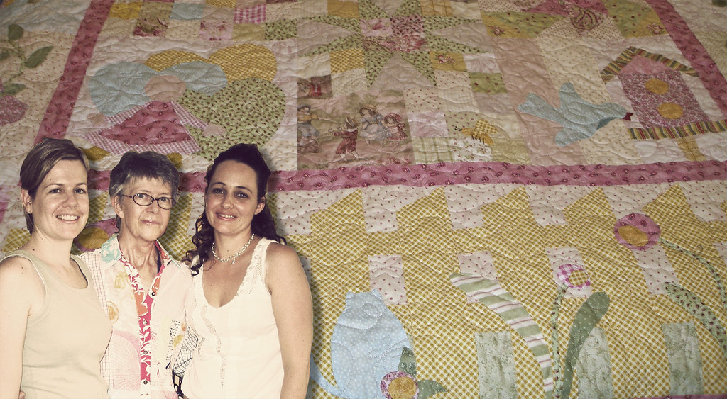 mothers, daughters and their quilts