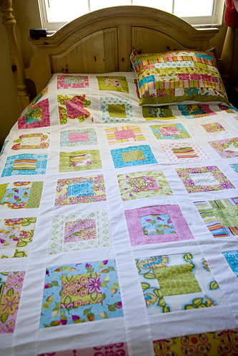 bed quilt soiree