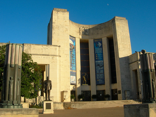 1930's Art Deco architecture is in abundance at Fair Park