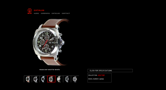 NFW Watches Website