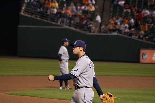 My brother took a lot of Longoria pictures partly because we were sitting close to him, but mostly because hes my favorite player.