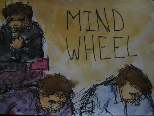 Mind Wheel at Tufts Oxfam Cafe