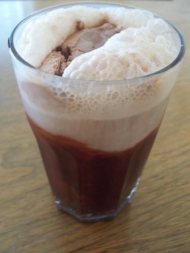 chocolate cream soda