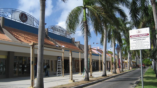 Centro Comercial Renaissance Marketplace en Aruba