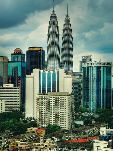 Twin Towers, Kuala Lumpur – Malaysia por williamcho.