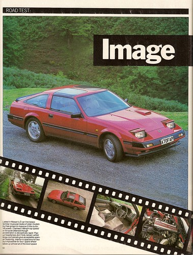 Nissan 300ZX Turbo Z31 Road Test 1984 1 - a photo on Flickriver