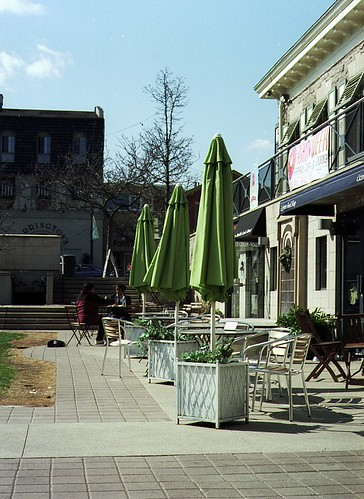 Spring Afternoon in the Square