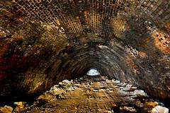 the raised floor (richboxfrenzy) Tags: train railway tunnel disused scrapyard westyorkshire dewsbury inthetunnel nikond40 batleycarr