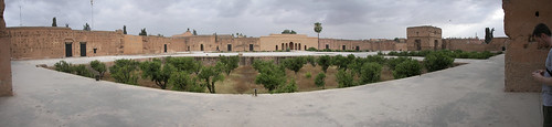 The abandoned Palais Badii. Built for the king's one concubine