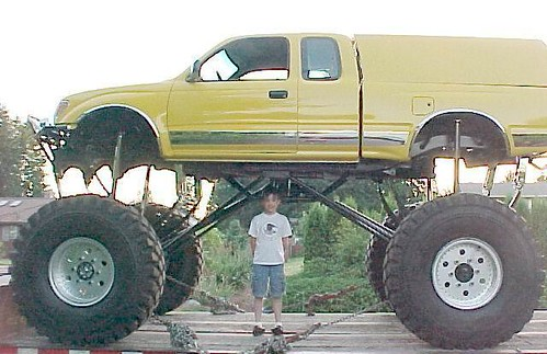 Lifted Toyota Trucks Foreign Yet American Jacked Up Lifted Trucks