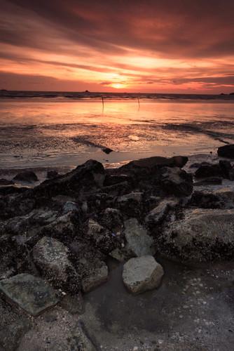 Eksplorasi Kuala Selangor | Sunset at Remis Beach
