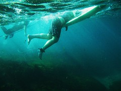The Drop Off (Prue -) Tags: ocean sea beach rocks surf surfer sydney australia reef liquid