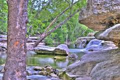 Bull Creek Falls  #2 - HDR (Jim Nix / Nomadic Pursuits) Tags: green nature water creek austin landscape waterfall nikon rocks stream texas sensational greenbelt hdr highdynamicrange bullcreek photomatix d40x nomadicpursuits lovelyworldofnature