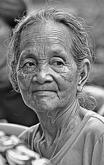 Old Woman from Desa Gn Riting