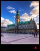 Town Hall Hamburg HDR (schoebs) Tags: clouds canon eos hamburg sigma townhall 1020mm rathaus hdr rathausplatz 40d schoebs