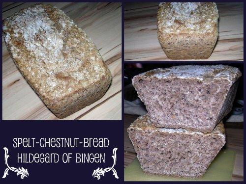 Spelt-Chestnut-Bread (Hildegard of Bingen)