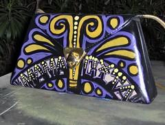 Mamacita Pyramid (A Toda Muerte) Tags: bag aztec purse handpainted bags bolsa purses bolsas mexicanfolkart mexicanart chicanoart handpaintedpurses handpaintedpurse pabloluna