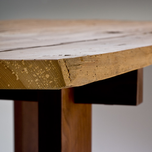 Hewn Dining Table - detail