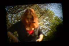Alice Through the Looking-Glass (0olong) Tags: portrait distortion throughaglassdarkly 0olong warristoncemetery onlyalice throughacamerabackwards