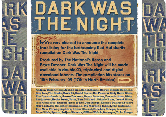 Vinyl Obsession: DARK WAS THE NIGHT