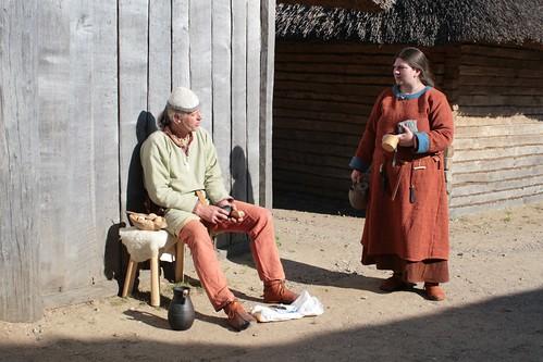 Reinhard und Raphie Haithabu-Intern 10-05-2009