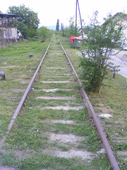 The old Railway line in Petrinja (seanfderry-studenna) Tags: town croatia balkans postwar hrvatska balkan petrinja petrinjska petrinia petrinjski 53nja petrinjsko