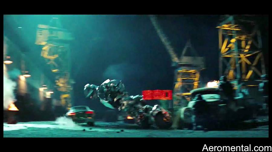 Tv Spots Transformers 2 Sideswipe robot