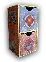 Porta treco com Gavetas (Minhas Crias) Tags: artesanato mdf decoupage trabalhosmanuais portatreco