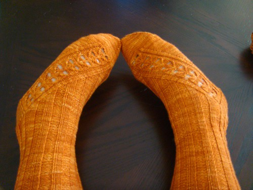 Kai-Mei Socks Completed!