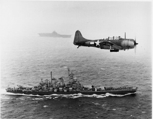 Warbird picture - Dauntless from USS Lexington (CV-16)