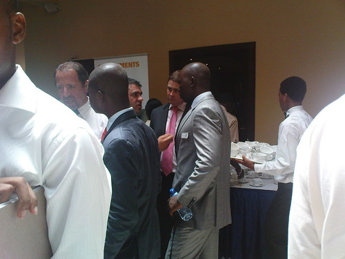 Participant Networking during the Tea Break