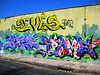 Los Angeles Mural. (Chrstnpwr) Tags: street beautiful wall la los nice artwork mural angeles sidewalk xmen frame graffitti serene dtk theseventhletter