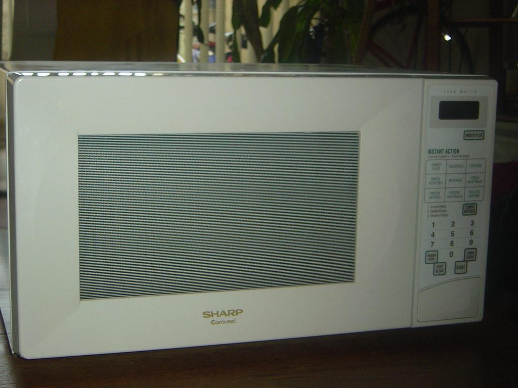 SHARP Carousel Microwave Oven