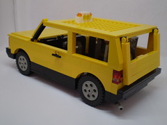 1980 Fiat Panda 4x4 Taxi Cab (/>ylan/>.) Tags: car yellow one panda lego 4x4 fiat please cab taxi seat it hate worst 1980 ever marbella 750